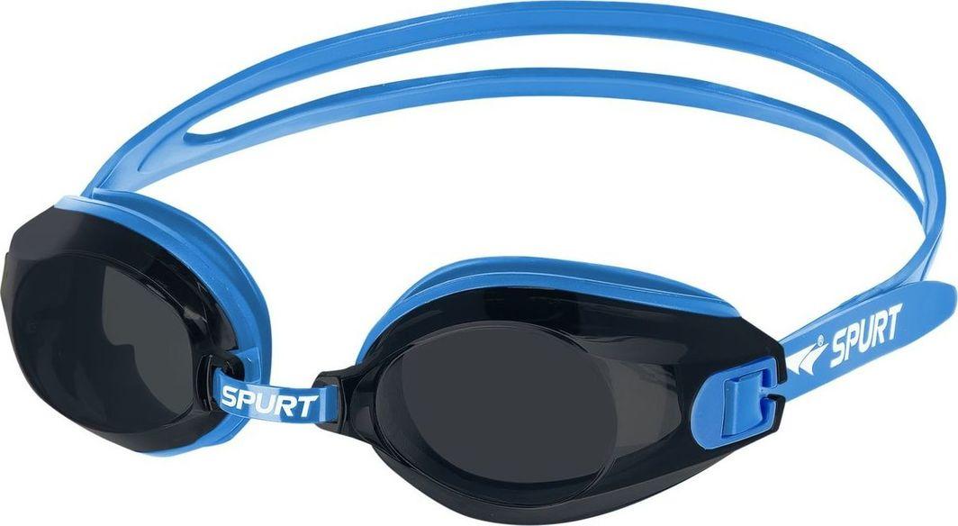 SPURT Okulary Pływackie A-1 AF Niebieskie  1
