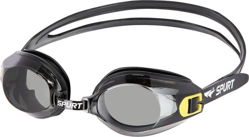 SPURT Okulary Pływackie A-1 AF Czarne  1