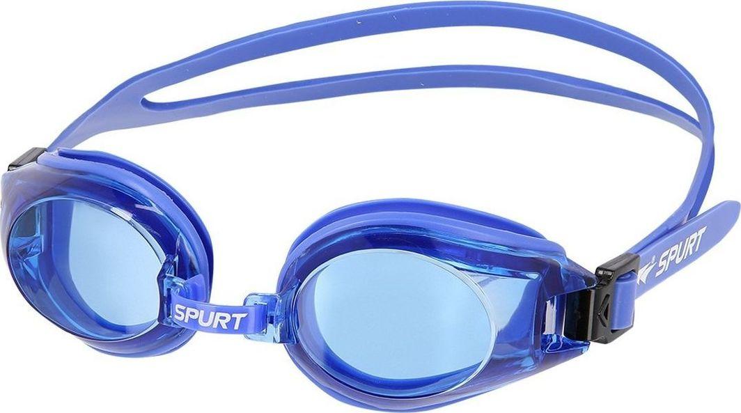 SPURT Okulary Pływackie 300 AF Niebieskie 1
