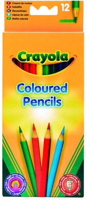 Crayola CRAYOLA Kredki ołówkowe 12 szt. - 3612 1