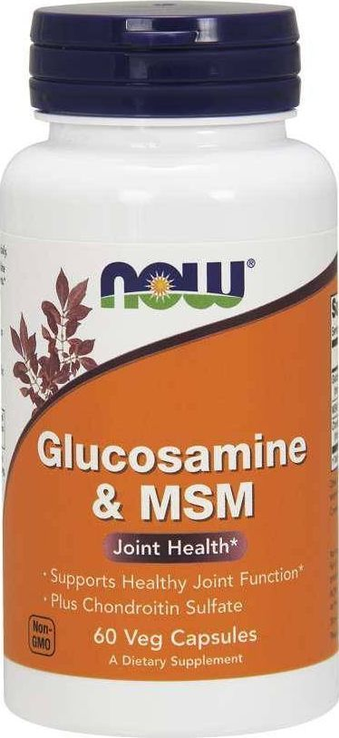 NOW Foods NOW Foods - Glukozamina i MSM, 60 vkaps 1