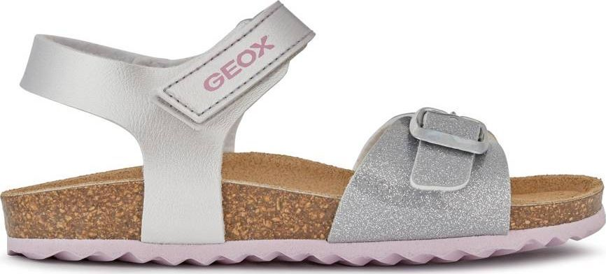 Geox GEOX Srebrne Sandały J028MC 31 1