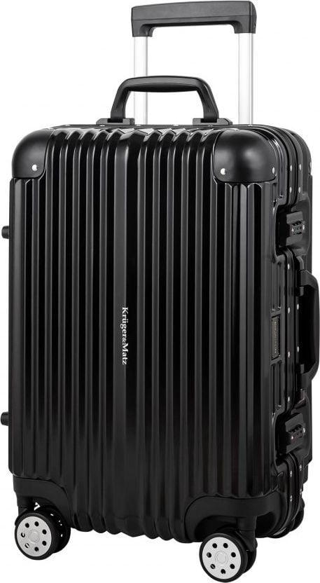 Kruger&Matz Kabinowa walizka na kółkach KM0297-S czarna 1