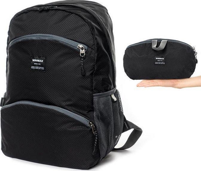 WinMax Winmax, Plecak składany, czarny, 20L 1
