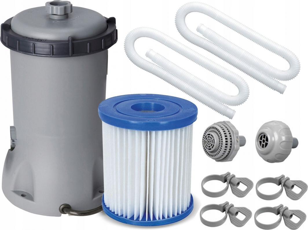 Bestway Pompa filtrująca kompletna 3028 L/H (58386) 1