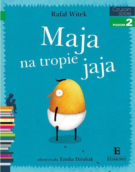 EGMONT Książka Maja na Tropie Jaja - 55678 1