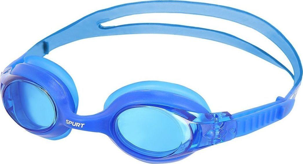 NILS Okularki SIL-20 AF Niebieskie  1