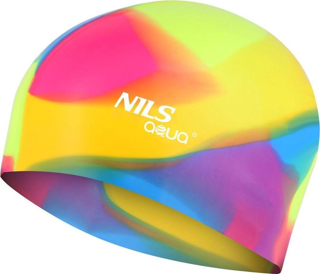 NILS Czepek silikonowy Nils Aqua MM113 wielokolorowy 1