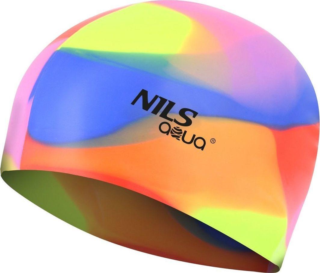 NILS Czepek silikonowy Nils Aqua MM114 wielokolorowy 1