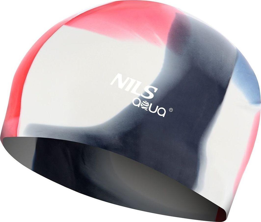 NILS Czepek silikonowy Nils Aqua MS250 wielokolorowy 1