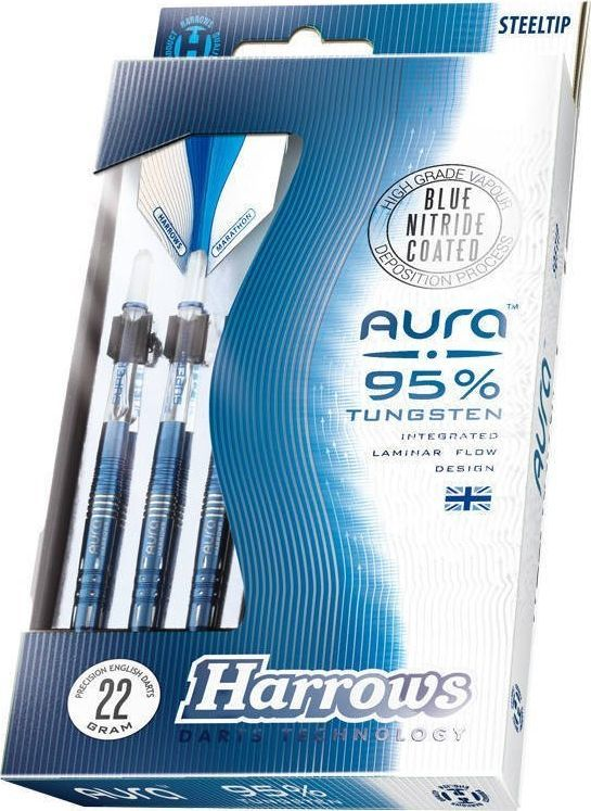 Harrows Rzutki Harrows Aura 95% Steeltip A3 23 g 1