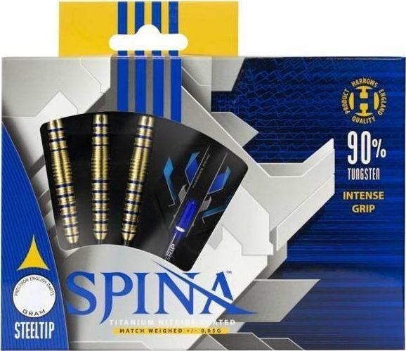 Harrows Rzutki Harrows Spina Gold 90% Steeltip 24 gr 1