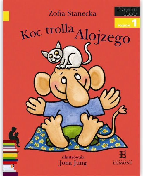 EGMONT Książka Koc Trolla Alojzego - 60450 1