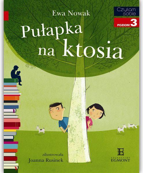 EGMONT Książka Pułapka na Ktosia - 60498 1