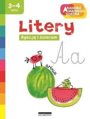 Książka Litery, Akademia Mądrego (60665) 1