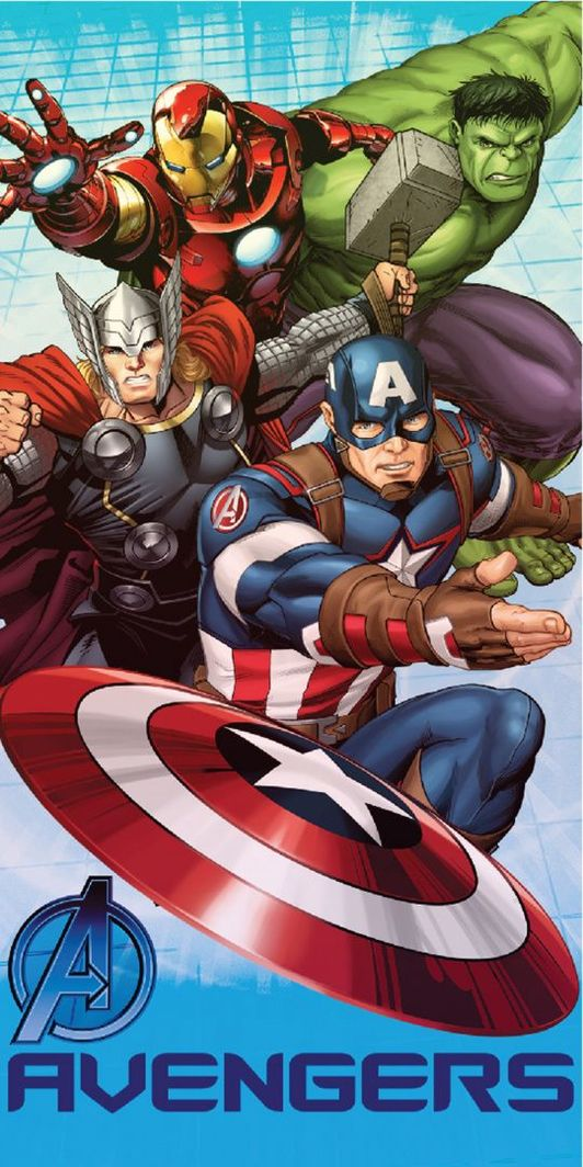 Ręcznik szybkoschnący Avengers 1