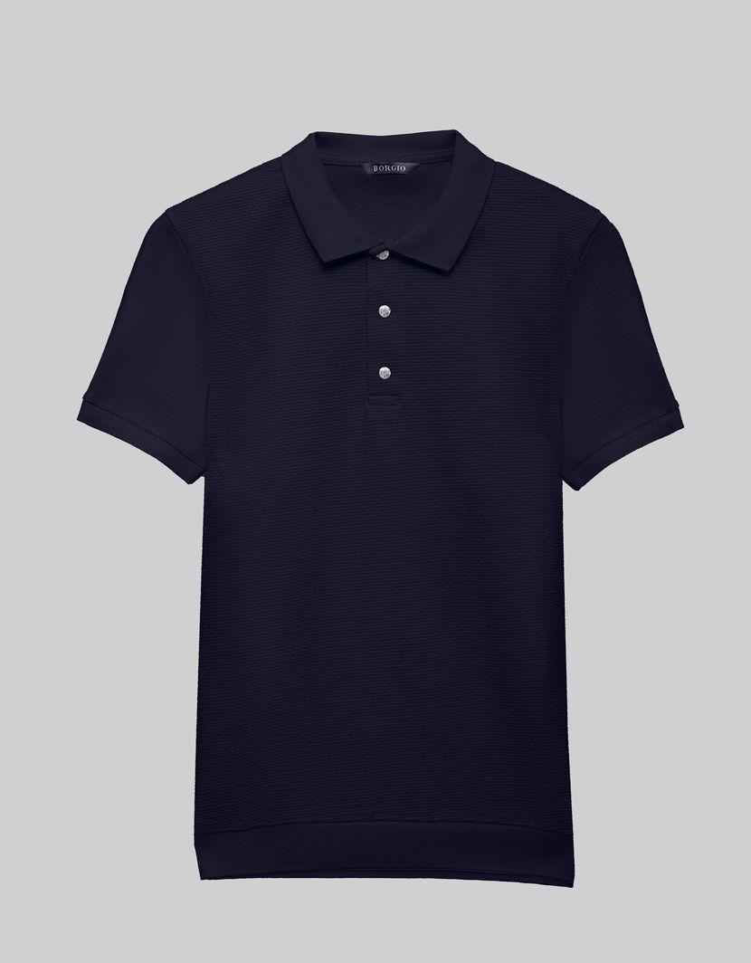 BORGIO koszulka męska polo pianella granatowy rozmiar L 1