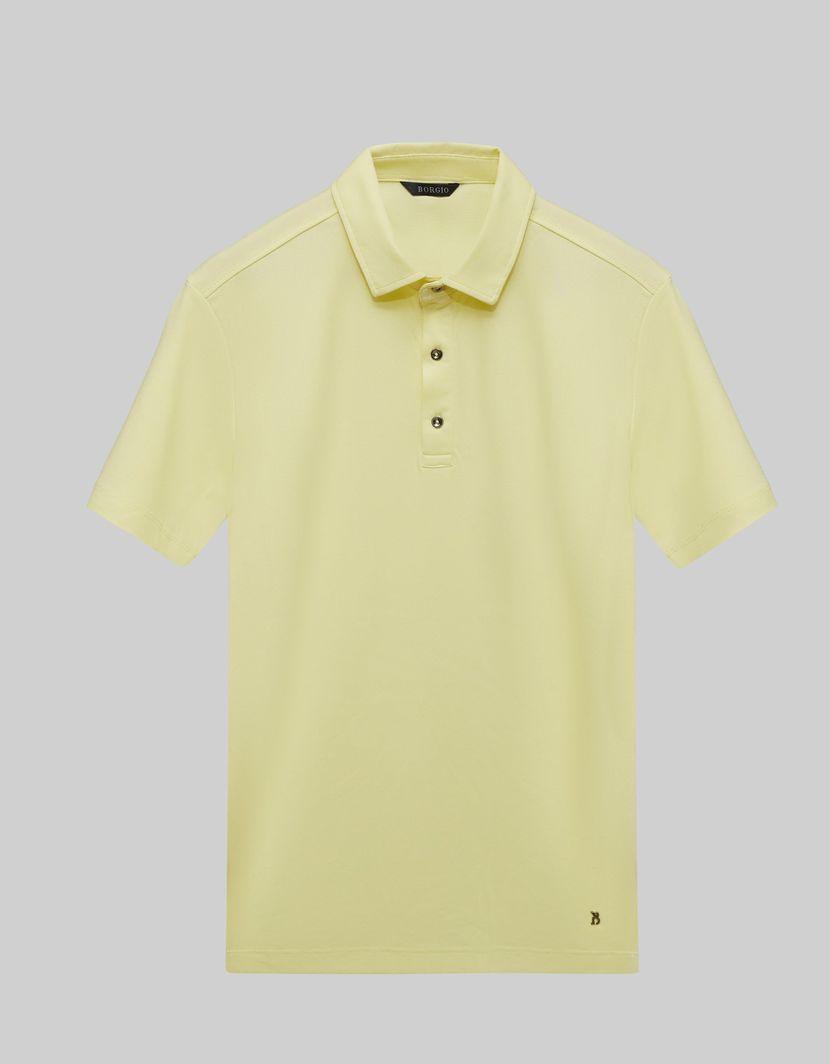 BORGIO koszulka męska polo popoli żółty rozmiar M 1
