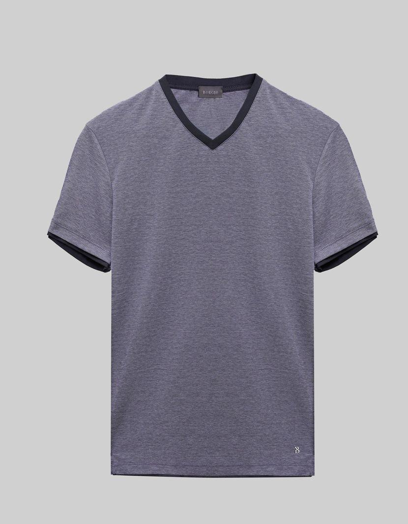 BORGIO t shirt męski cannobio granatowy rozmiar L 1
