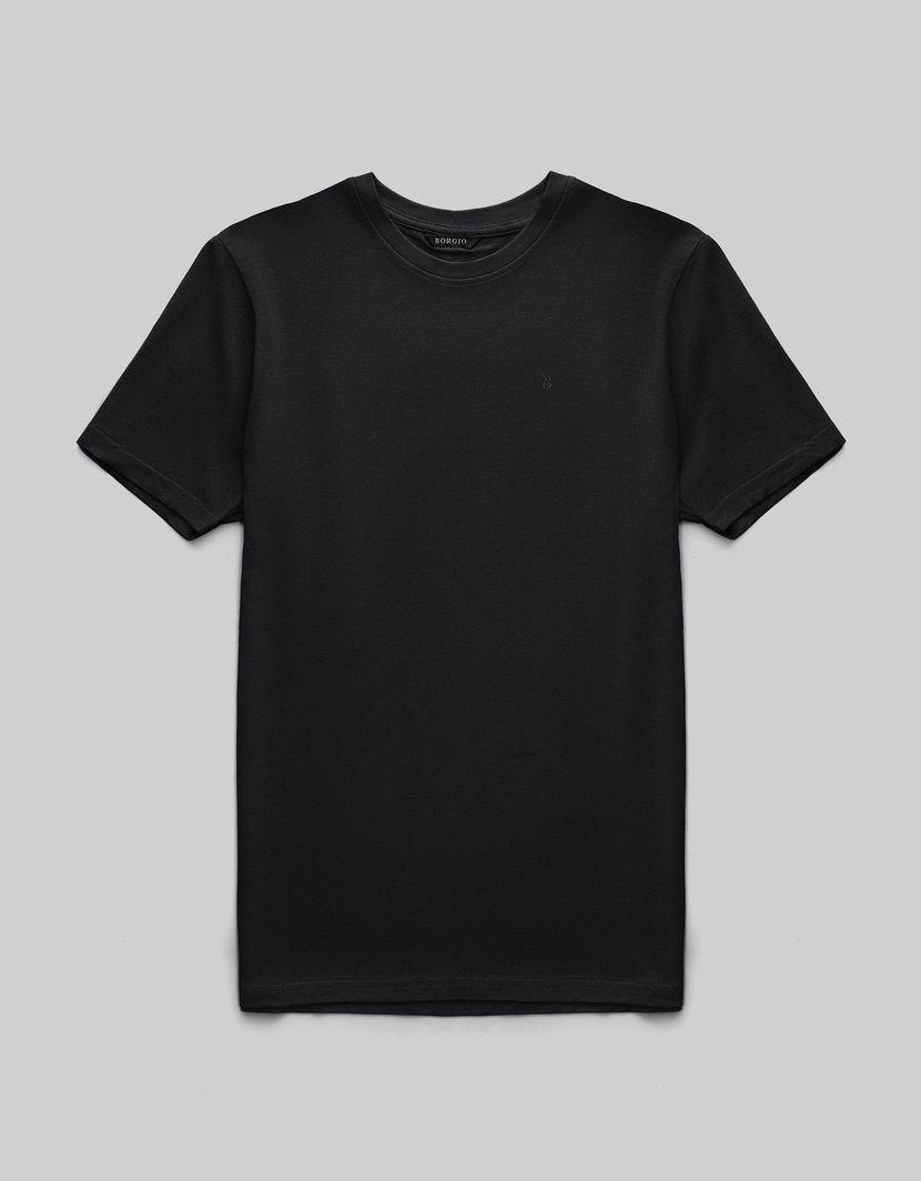 BORGIO t shirt męski como czarny rozmiar XL 1