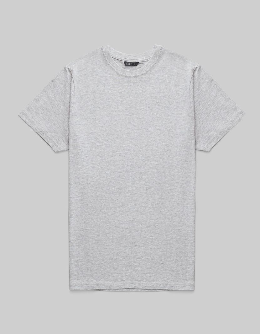 BORGIO t shirt męski como szary rozmiar L 1