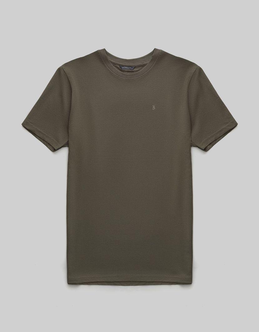 BORGIO t shirt męski como zielony rozmiar S 1