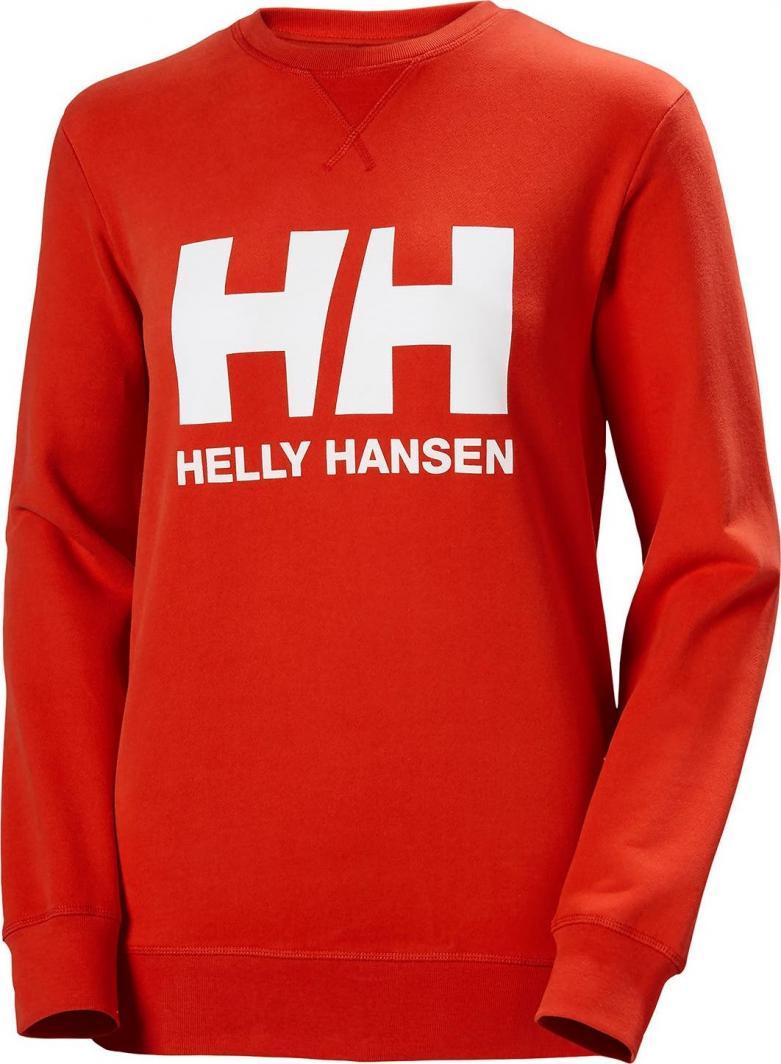 Helly Hansen Bluza damska W LOGO CREW SWEAT Alert Red r. M (34003_222) 1