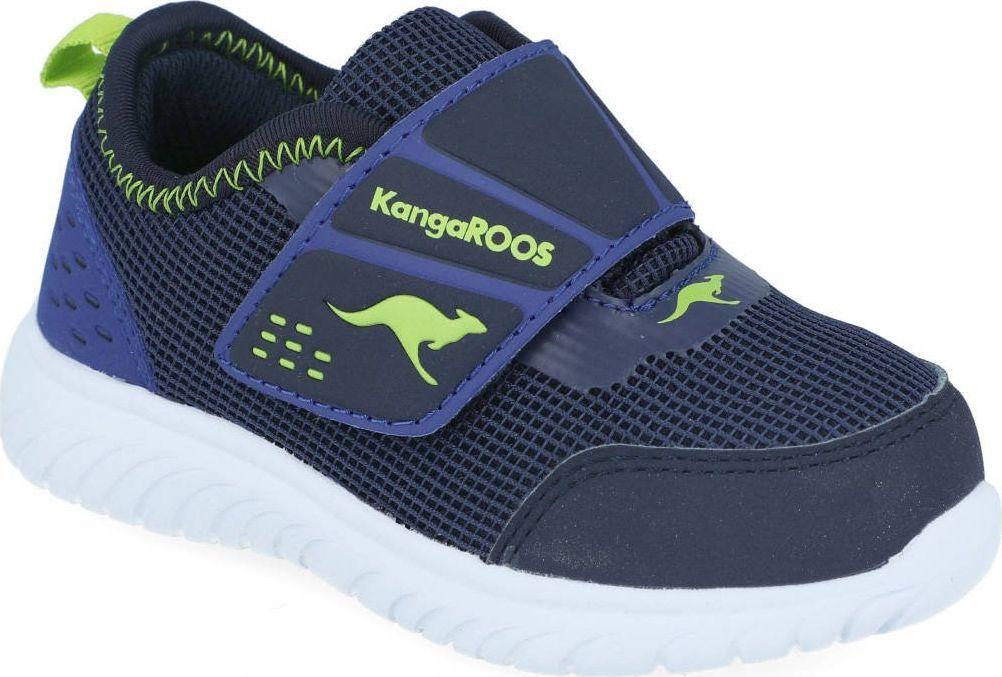 Kangaroos Sneakersy chłopięce KangaROOS 02082 granatowy 24 1