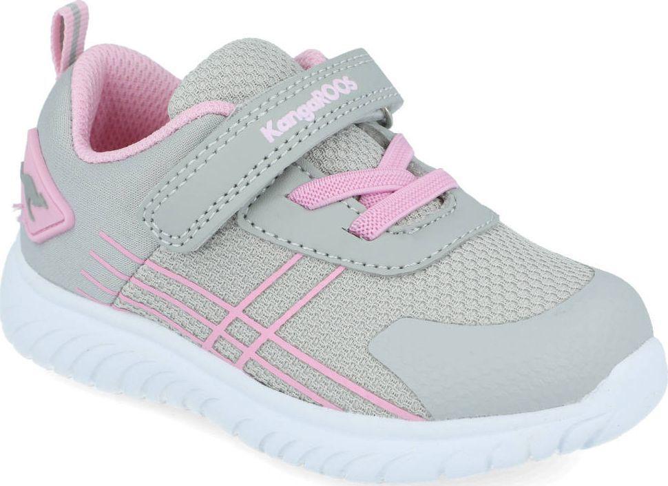 Kangaroos Sneakersy dziewczęce KangaROOS 02084 szary 26 1