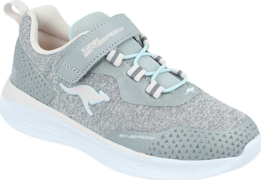 Kangaroos Sneakersy dziewczęce KangaROOS 18715 szary 33 1