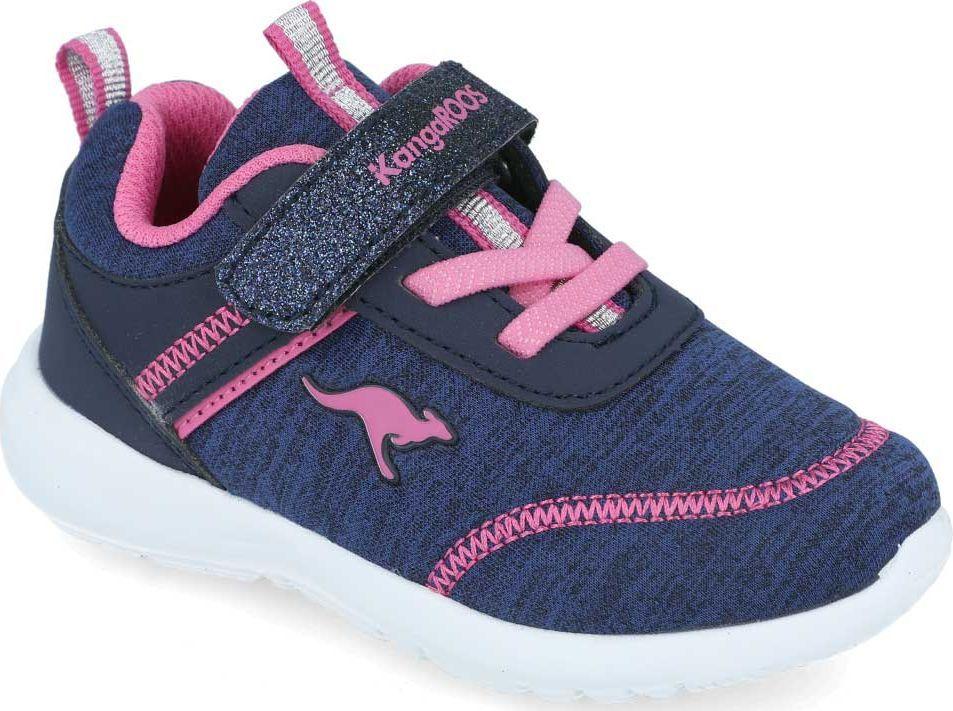 Kangaroos Sneakersy dziewczęce KangaROOS 02078 gramatowy 27 1