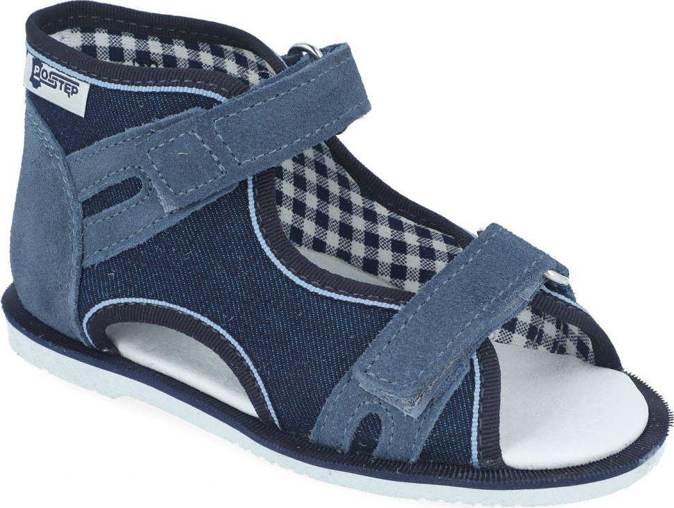 RenBut Obuwie profilaktyczne Postęp - Renbut 191 obcas Thomasa jeans niebieski 23 1