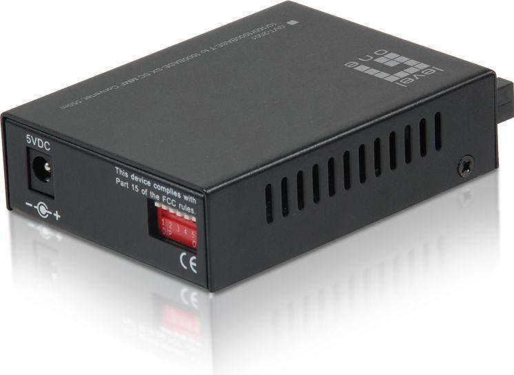 Konwerter światłowodowy LevelOne GVT-2001 1