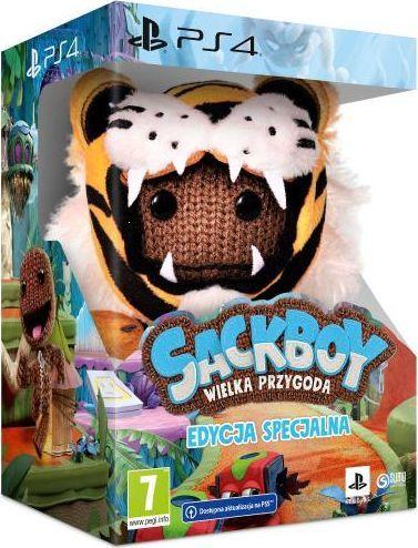 Sackboy Wielka Przygoda Edycja Specjalna PS4 PS5 POLSKA WERJSA 1