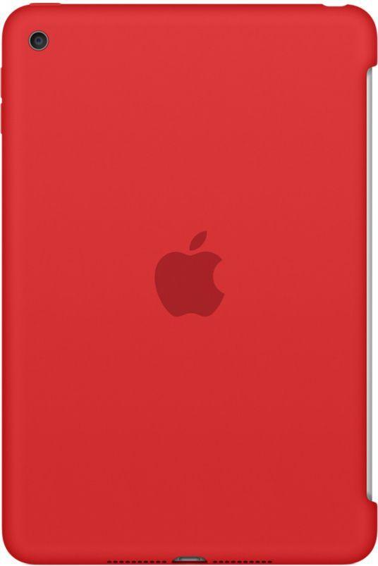 66961094257a7a Apple Silikonowe etui do iPada mini 4 - czerwone (MKLN2ZM/A) w Morele.net