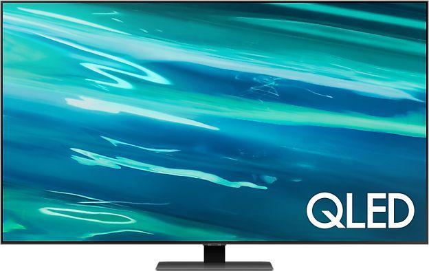 Telewizor Samsung QE55Q80AAT QLED 55'' 4K Ultra HD Tizen  1