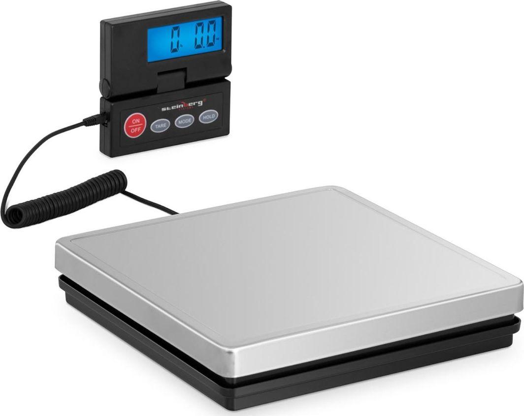 Waga kuchenna Steinberg Waga platformowa pocztowa do 50 kg / 10g LCD Waga platformowa pocztowa do 50 kg / 10g LCD 1