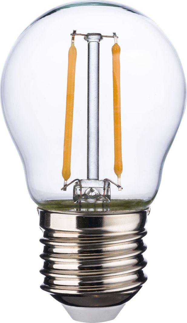 TK Lighting Przezroczysta żarówka E27 ledowa ciepła 2W TK Lighting 3575 1