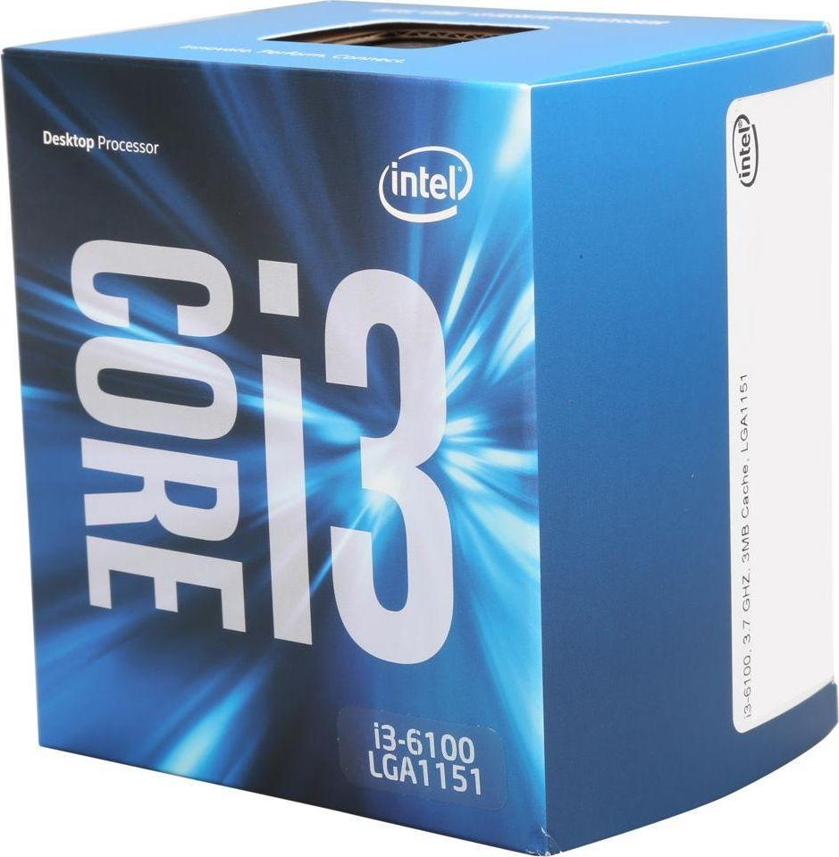 Procesor Intel Core i3-6100, 3.7GHz, 3 MB, BOX (BX80662I36100 945911) 1