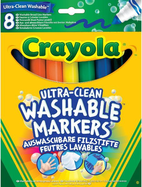 Crayola Flamastry super spieralne 8szt. (58-8328) 1