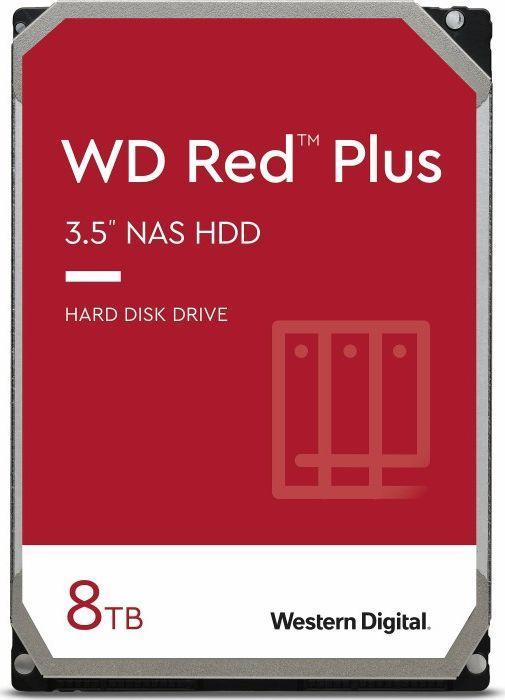Dysk serwerowy WD WD Red Plus 8 TB 3.5'' SATA III (6 Gb/s)  (WD80EFBX) 1
