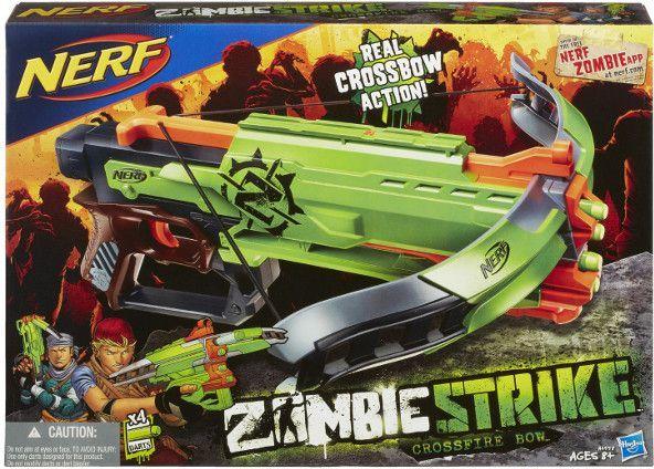 Hasbro Kusza Nerf Zombie Crossfire Bow (A6558) 1