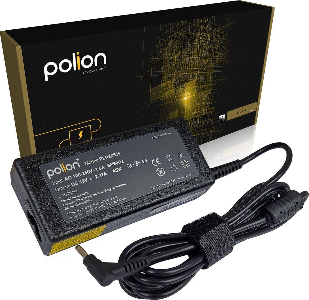 Zasilacz do laptopa Polion Ładowarka 45W do SAMSUNG 19V 2,37A 3,0x1,1mm 1