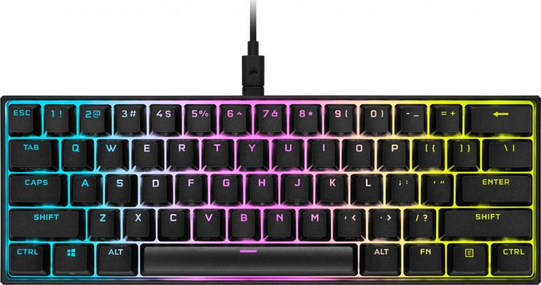 Klawiatura Corsair K65 RGB MINI 60% (CH-9194014-NA) 1