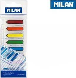 Milan Zakładki Milan indeksujące 45x12 transparentne strzałki 1