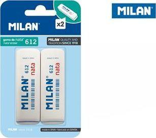 Milan Gumki Milan 612 nata 2 szt. na blistrze 1