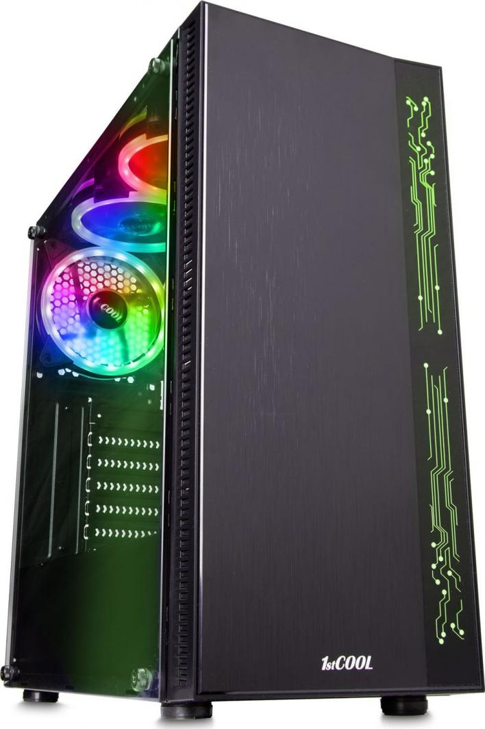 Obudowa 1stCOOL Rainbow 1 EVO ARGB (ML-RAINBOW1-AU-USB3-EVO) 1