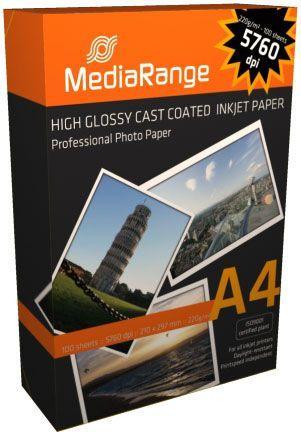 MediaRange Papier fotograficzny A4 (MRINK103) 1