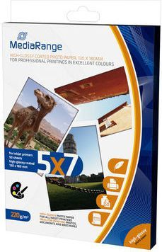 MediaRange Papier fotograficzny 13x18mm (MRINK114) 1