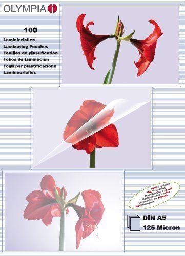 Olympia woreczki do laminacji DIN A5 125 micron (9177) 1